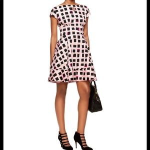Kate Spade Abstract Sweets Fit And Flare Dress 10